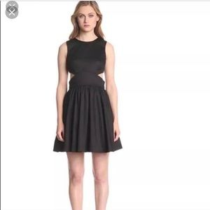 French Connection Black Cut Out Dress